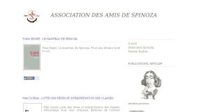 Association des Amis de Spinoza