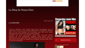 Le Blog de Maiya Kate