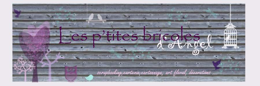 Le blog d'angel, mes passions :stampin up, le scrap, l'art floral et mes créations