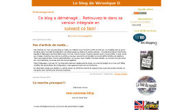 Le blog de Véronique D