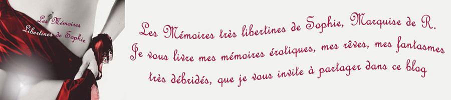 Les Mémoires Libertines de Sophie de R.