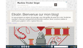 Elkalin-Broderie main et machine gratuite-Couture facile-