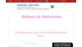 Le blog de mahassine