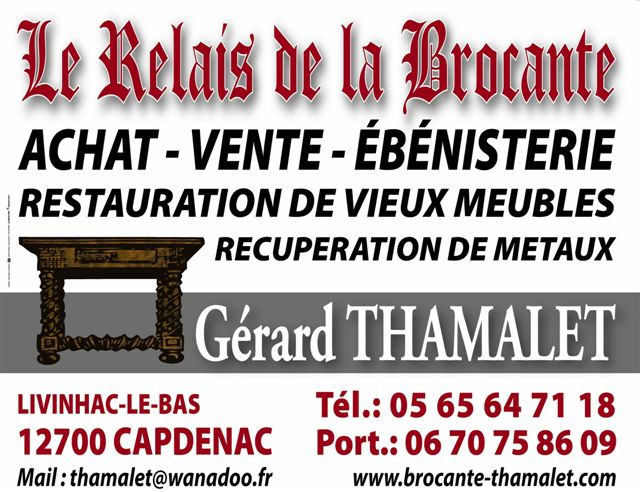 brocante ebenisterie thamalet gerard