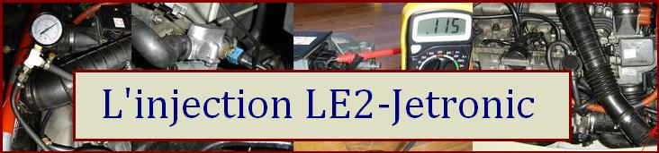 Injection LE2-Jetronic BOSCH