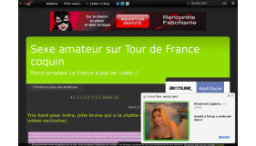 Tour de france coquin